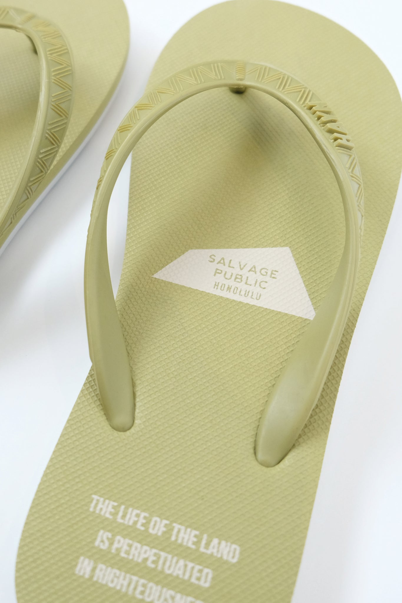 Slippers - HAYN x Salvage Public - Sage Green