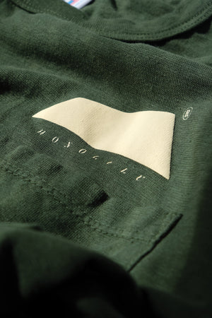 T-Shirt - Hemp Logo - Olive Green