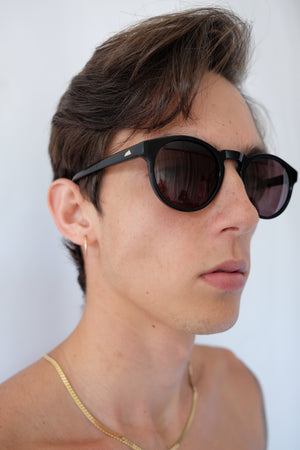 Sunglasses - 'Ike - Jet Black