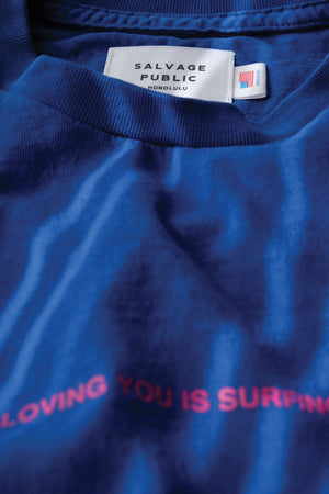 Pocket T-Shirt - Loving You - Royal Blue