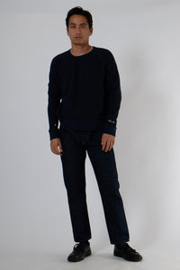 Sweatshirt - Cool & Calm - Navy