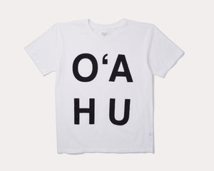 T-Shirt, Oahu - White