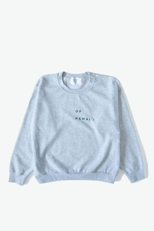 Sweatshirt - Of Hawaiʻi - Heather Grey