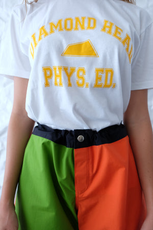 T-Shirt - Phys. Ed. - Gold/White