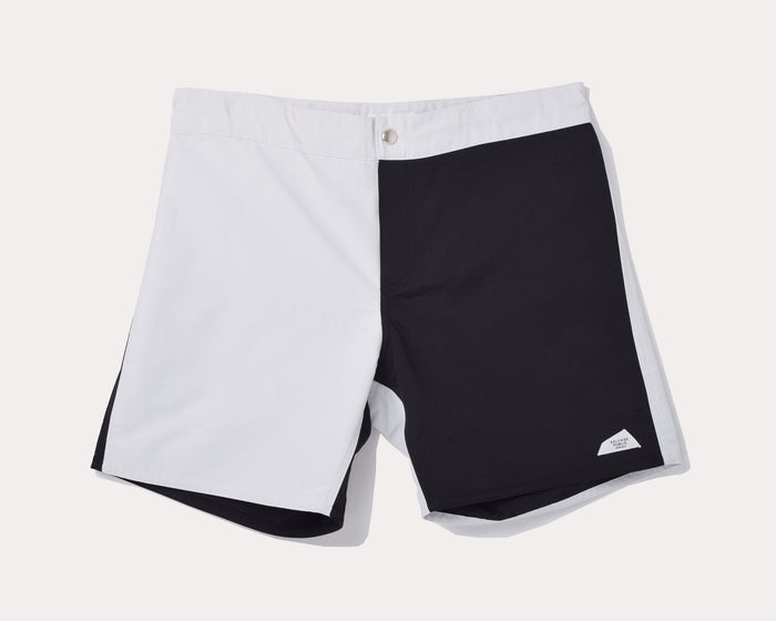Shorts - Koko Boardshort, Quad - Black & White