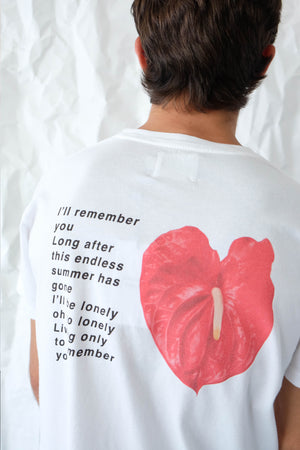 T-Shirt - I'll Remember You - White
