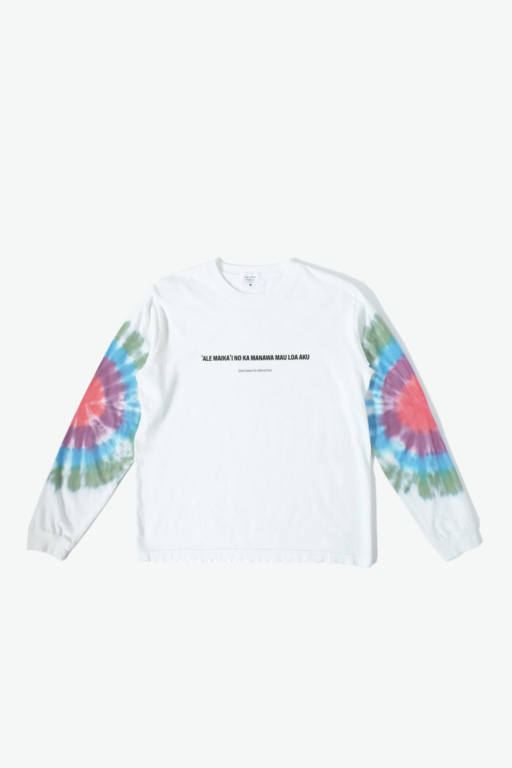Long Sleeve T-Shirt - Good Waves - Tie Dye