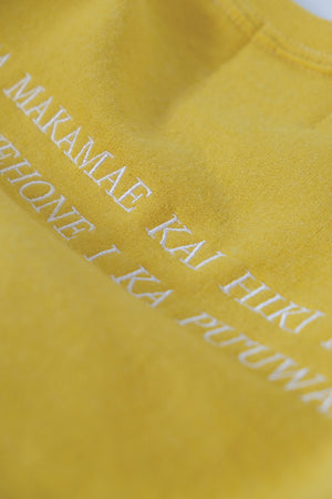 Sweatshirt - Pua - Yellow
