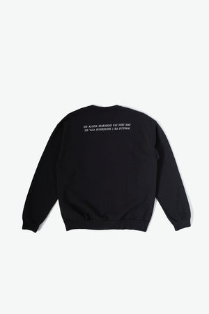 Sweatshirt - Pua - Black