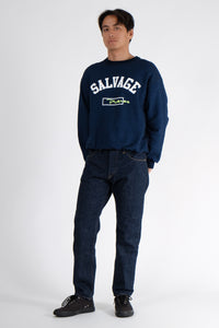 Sweatshirt - Salvage University - Indigo