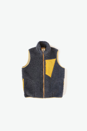 Jacket - Upcountry Sherpa Vest - Grey