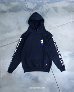 Hoodie - Sun Source Of Life - Black