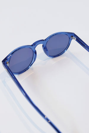 Salvage Public x Julien David - Sunglasses - 'Ike - Blue