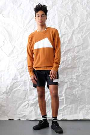 Sweatshirt - Big Logo - Rust