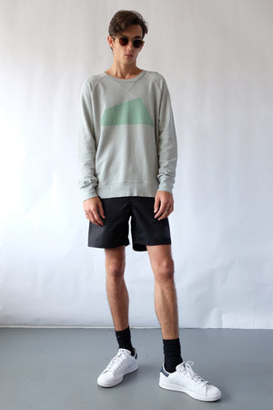 Sweatshirt - Big Logo - Sage