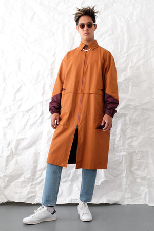 Jacket - Volcano Trench - Rust/Plum