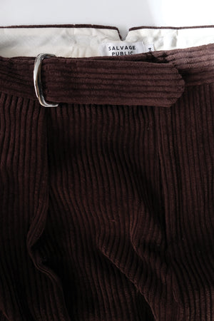 Trouser - Corduroy - Brown