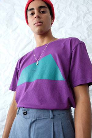 T-Shirt - Big Logo - Purple/Teal