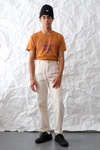 T-Shirt - Ski Diamond Head - Rust/Purple