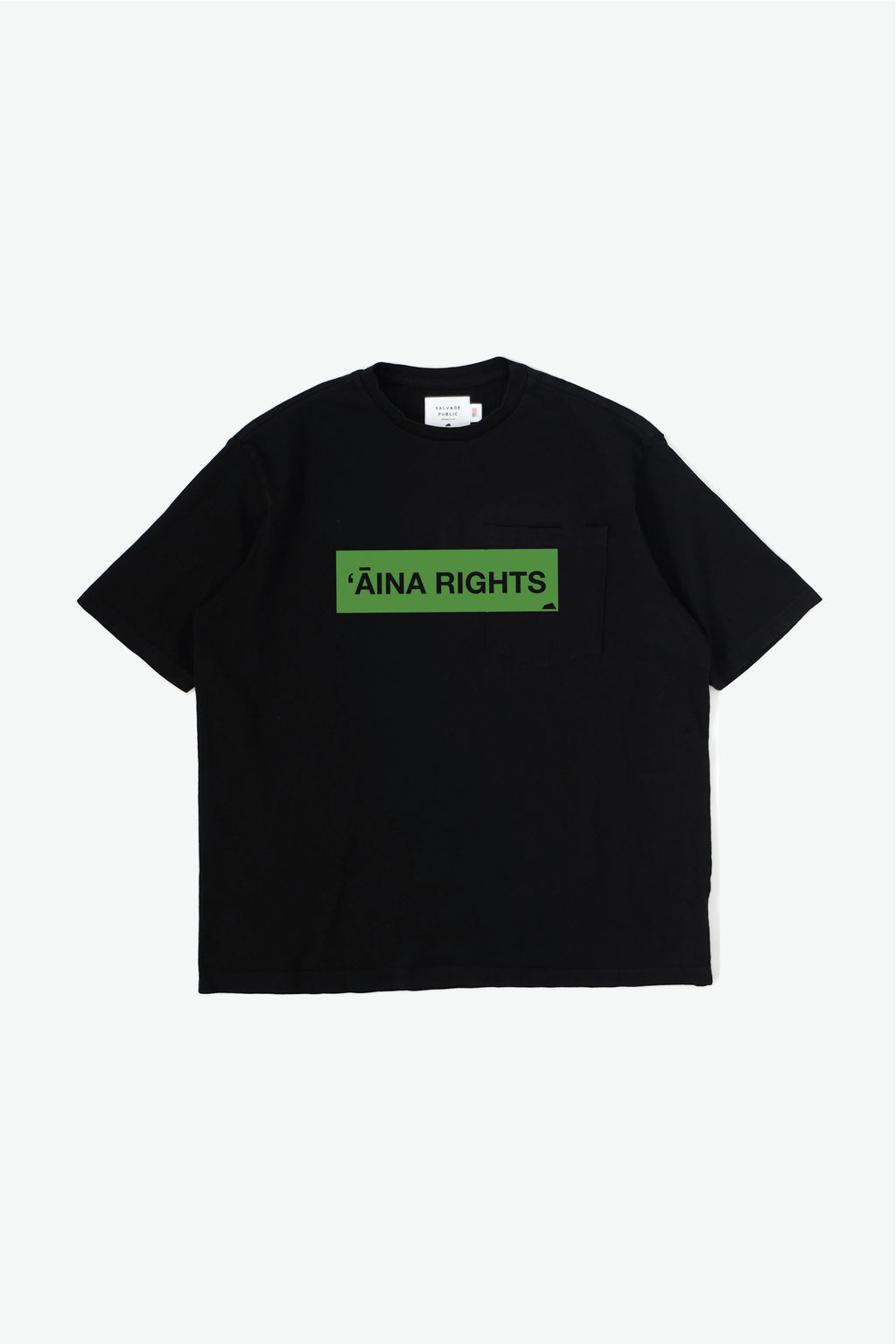 Oversized T-Shirt - 'Āina Rights - Black