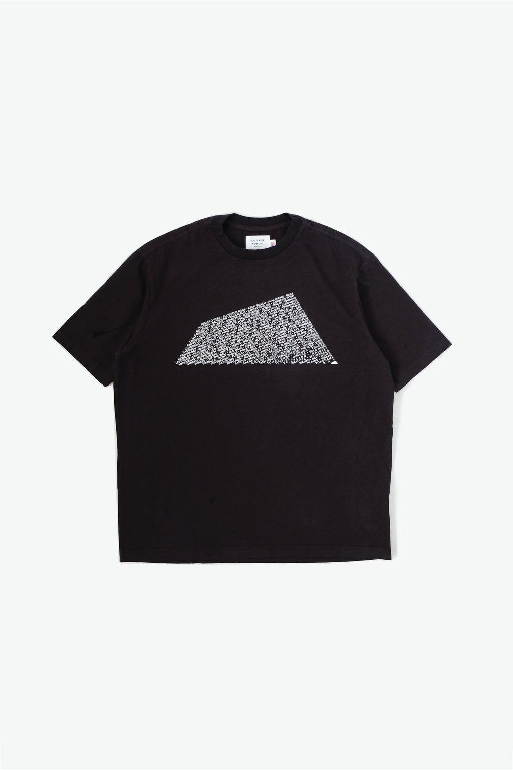 Oversized T-Shirt - Breaks - Washed Black