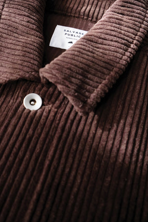 Jacket - Corduroy - Brown