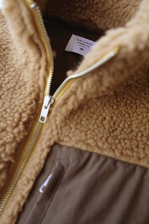 Jacket - Upcountry Sherpa - Brown