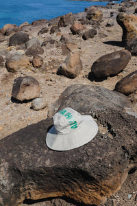 Hat - Wide Brim Aloha - Washed Seaweed