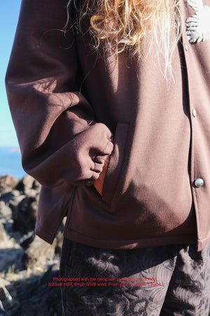 Jacket - Tech Fleece Coach - Lauaʻe Chenille - Brown