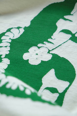 Long Sleeve T-Shirt - Pāradiʻise - Natural