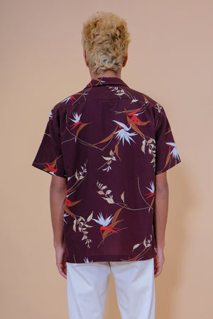 Vintage Aloha Shirt - Made in Hawaii - Brown