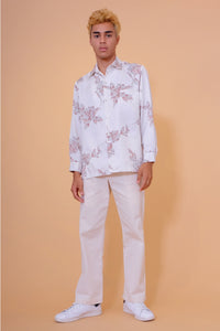 Vintage Aloha Shirt - Tori Richard - Cream
