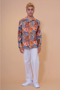 Vintage Aloha Shirt - Andrade - Color