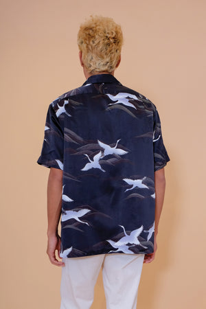 Vintage Aloha Shirt - Tori Richard - Black