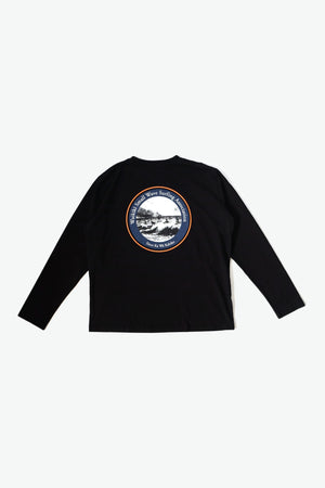 Long Sleeve T-Shirt - WSWS - Black