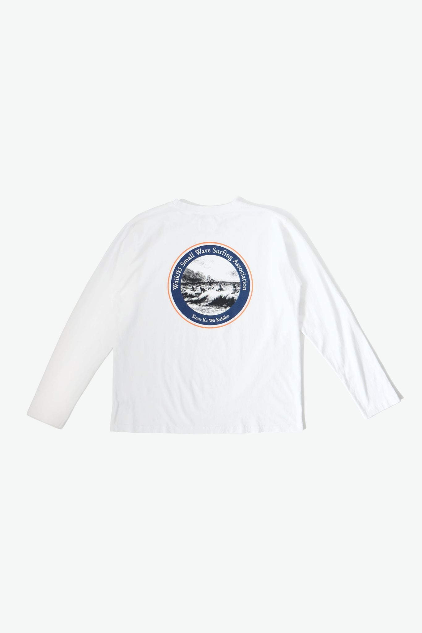 Long Sleeve T-Shirt - WSWS - White