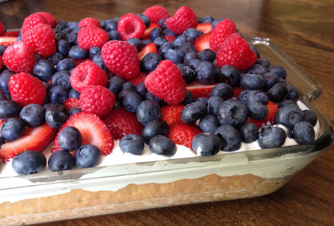 Tres Leches with Berries