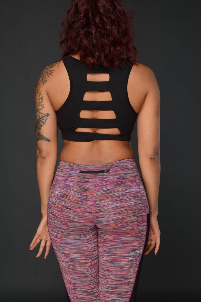 Spaced Out Sports Bra