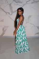 Green native maxi