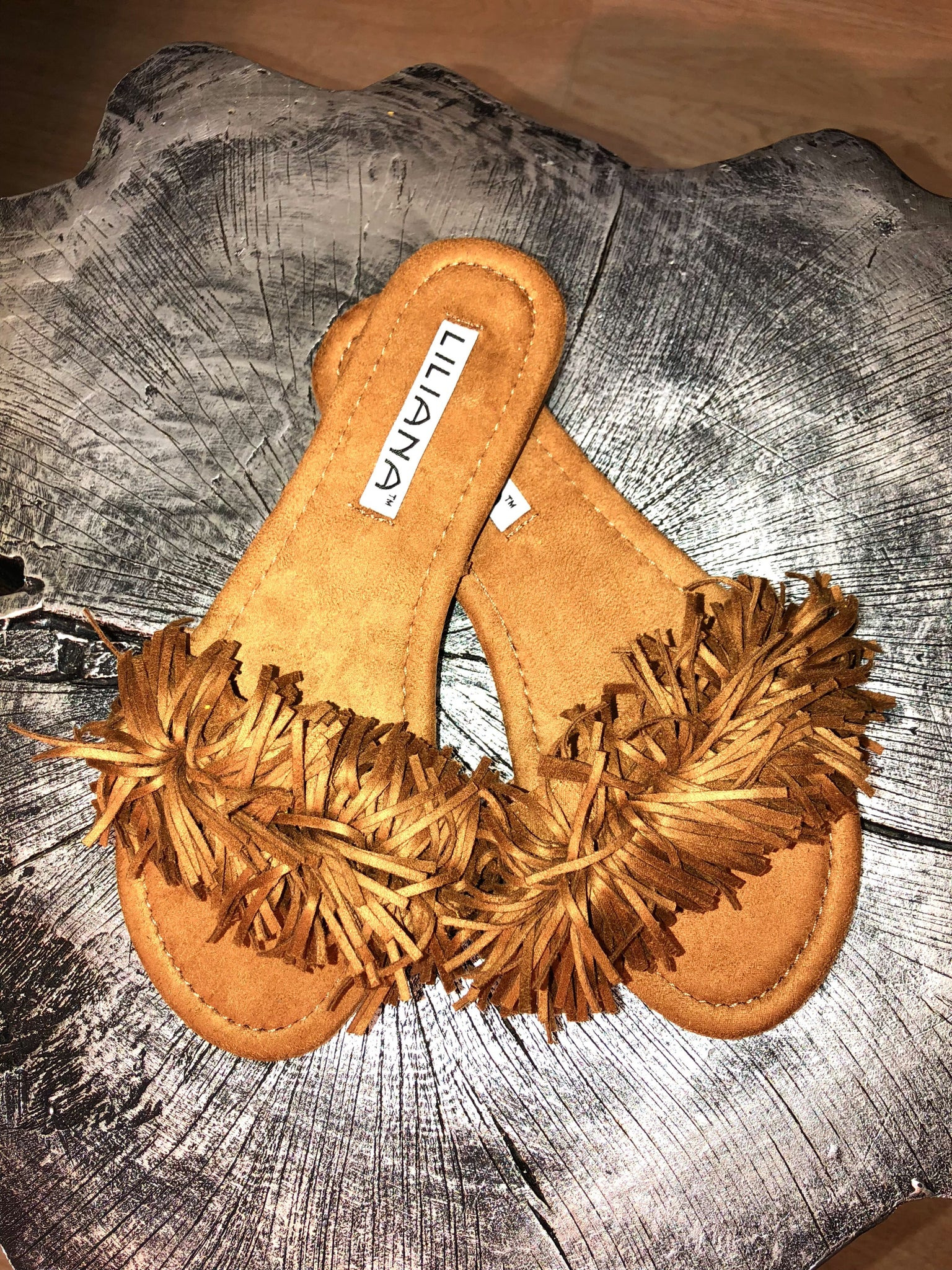 Chocolate fringe slides