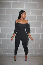 Tail feather jumpsuit