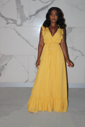 Golden rope maxi