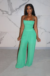 Green Cassie jumpsuit