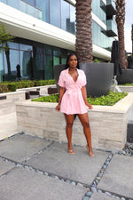 Blush Brunch Romper