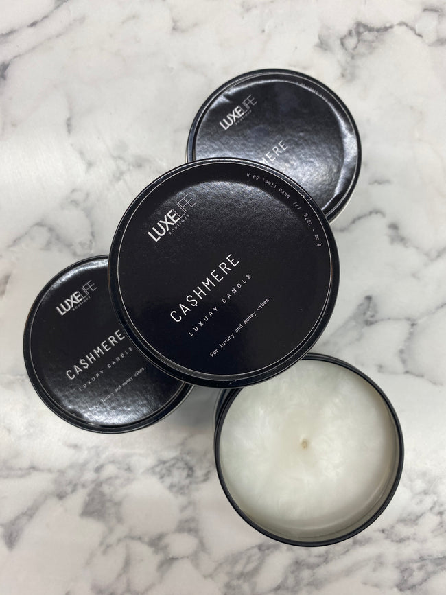 Luxe Cashmere Candle
