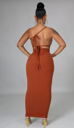 Cognac twisted 3 piece set