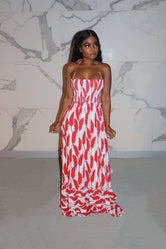 Red native maxi