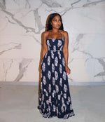 Navy native maxi