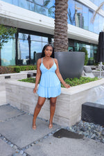 Baby Blue Baby doll dress