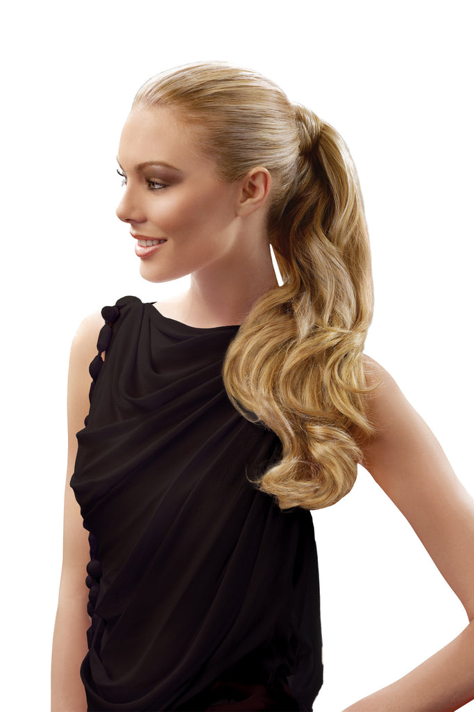 LONG WAVY PONYTAIL WRAP 23""